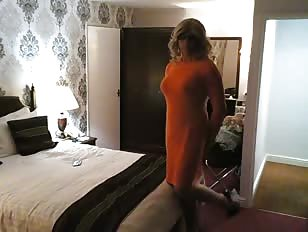 AmandaCross New Orange Dress