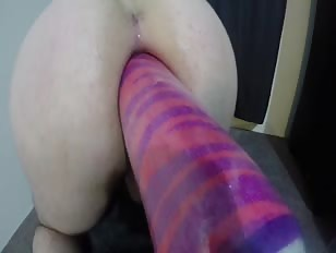 Huge Anal Gaping Solo