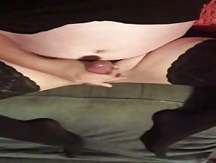 Cumming In Stockings