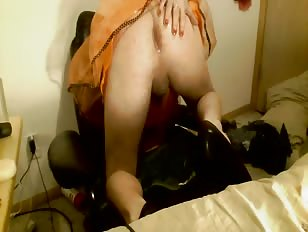 My Own Cum Oozing Out of my Asscunt