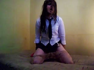 Horny Schoolgirl CD Getting Naughty