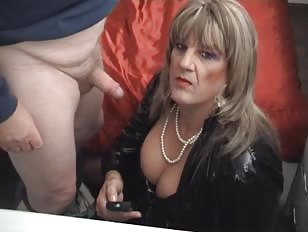 Mature Whore Sucks Dick