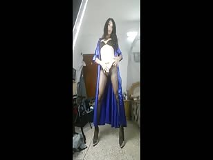 Chinese Crossdresser Gets Naked and Dirty
