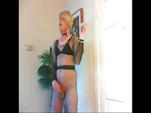 Two Horny Crossdressers Having Fun