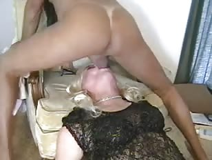 Crossdresser and a Guy In Mutual Sucking Action
