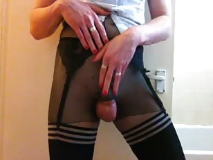 Sissy Boy Trying His New Panties