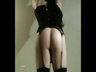 Gorgeous Crossdresser in Sexy Lingerie