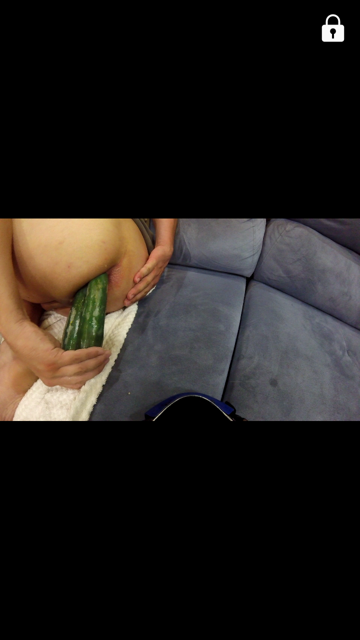 Fucking My Ass with a Cucumber (10/10)