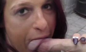 BIG HARD COCKS DOWN THE THROAT OF SISSY SLUT