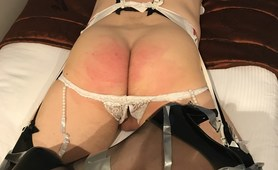 CD Tape Bound and Spanked