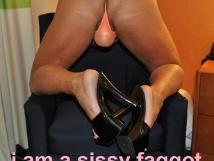 sissy faggot robbie for exposure on the internet