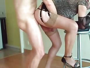CD Slut Fucked From Behind