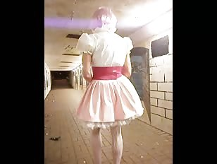 Sissy Paula's Underpass Humiliation