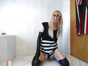 Crossdressing Dildo Anal Fuck Dwtchen