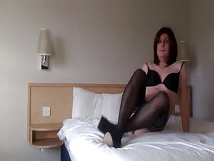 Cute Emma Having Fun In Hotel Room