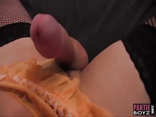 Crossdresser Sluts Enjoy Sexy Footjob and Masturbation
