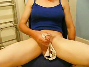 Jerking in Wife's Panties