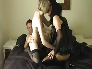 Threesome with Amateur Couple and CD