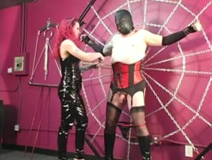 Sissy Slave Gets Punished by His Mistress