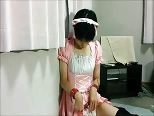 Cute CD from Japan Plays with Her Cock