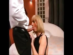 French CD Loves Being Filled With Cock and Sperm