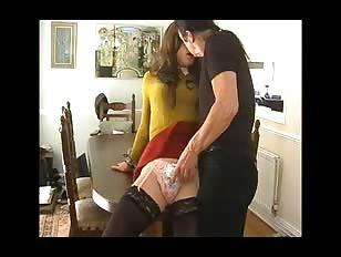 Crossdresser Having Fun with Boyfriend