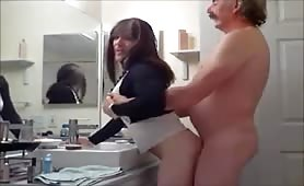 The Boss Fucking In The Bathroom Horny Cd