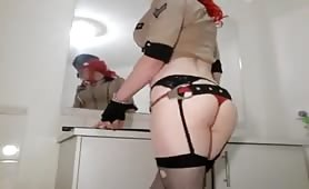 CandyCane Crossdresser Is A Dirty Cop